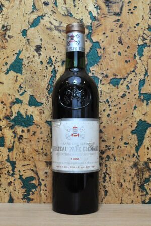 Chateau Pape Clement Graves Grand Cru 1966-13