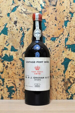 Port W. & J. Graham's Finest Reserve Vintage Port Portugal 1970