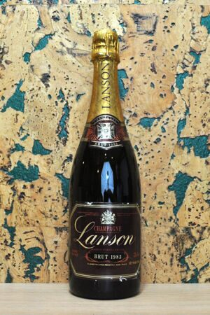 Champagne Lanson Red Label Brut 1983