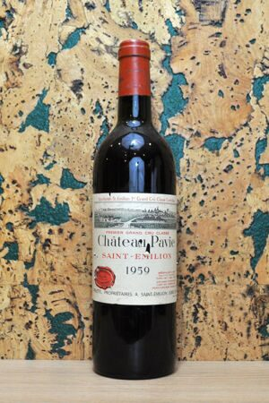 Chateau Pavie Saint-Emilion Grand Cru 1959