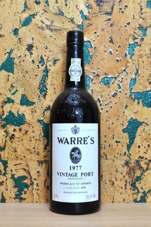 Port Warre's Vintage Port Portugal 1977