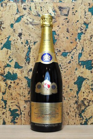 Champagne Veuve Clicquot Ponsardin Brut 1980 in Gift Box 150 Anniversary of Texas Independence