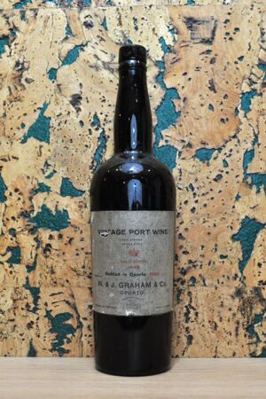 Port W. & J. Graham's Finest Reserve Vintage Port Portugal 1948